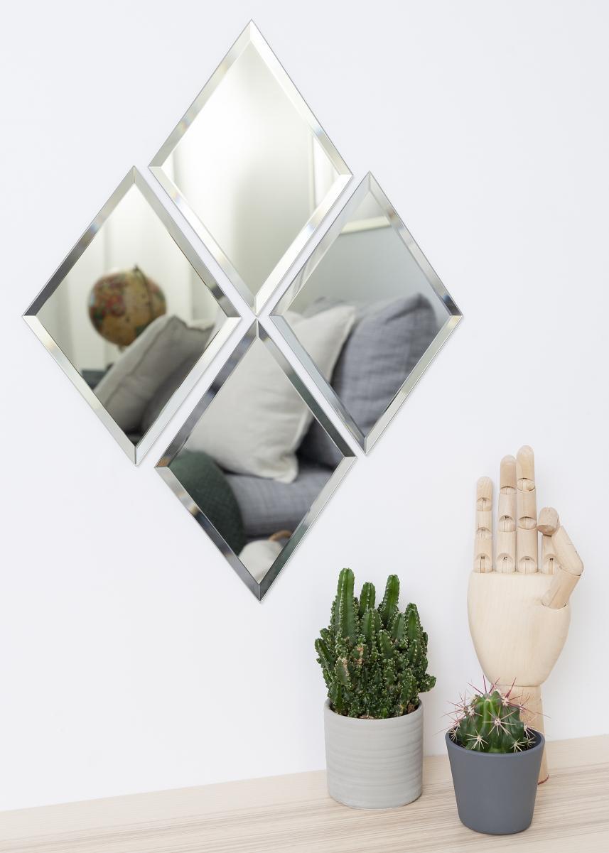 Fyrkantiga speglar från BGA